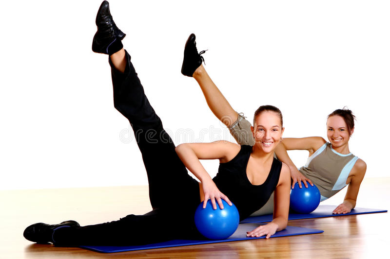 Download People Group  Doing Fitness Exercises Stock Photo - Image: 14851290