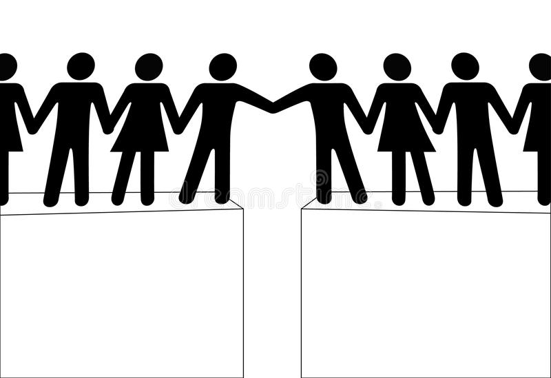 Download People Groups Reach To Join Connect Together Stock Photography - Image: 14828122