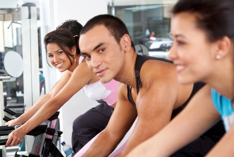 Download People at the gym stock image. Image of healthy, muscular - 4419827