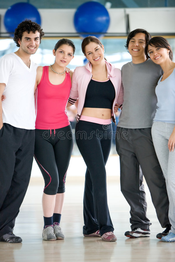 Download People at the gym stock photo. Image of healthy, latin - 6929270