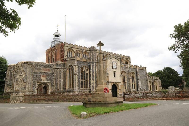 St Mary the Virgin, East Bergholt royalty free stock photography