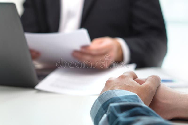 People having meeting in office. royalty free stock photos