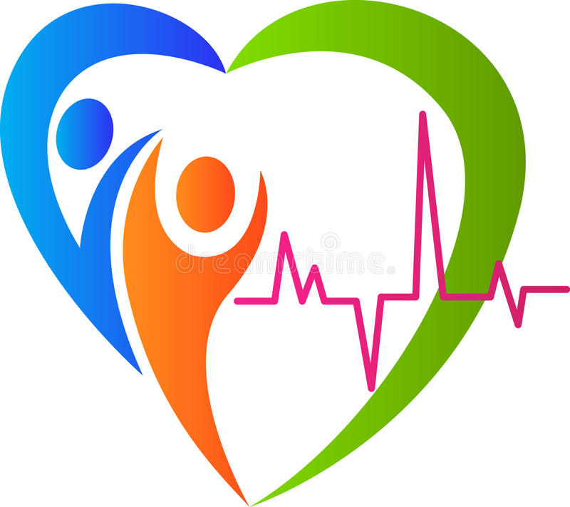 Download People heart care stock vector. Image of design, beat - 32615103