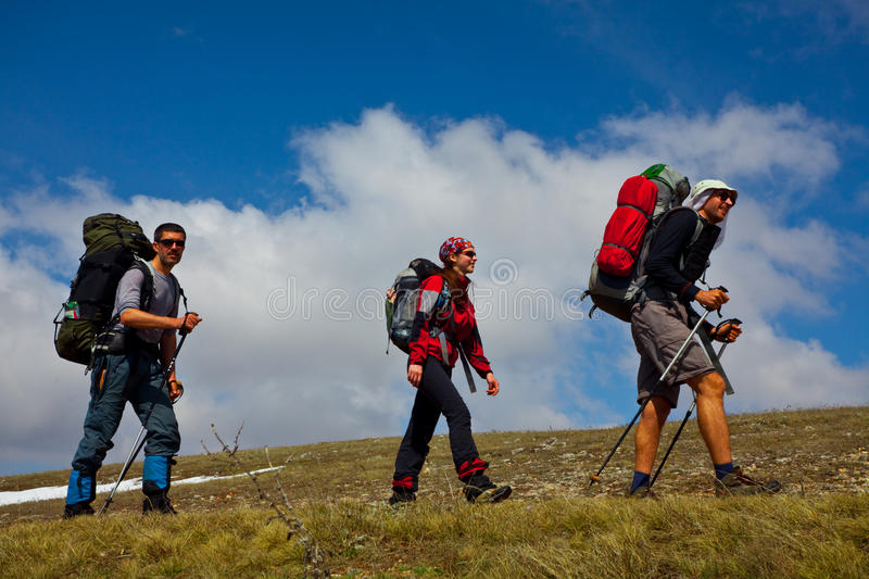 Download People in hike stock image. Image of trekking, people - 9675363