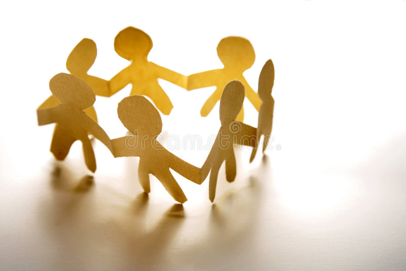 People holding hands royalty free stock photos