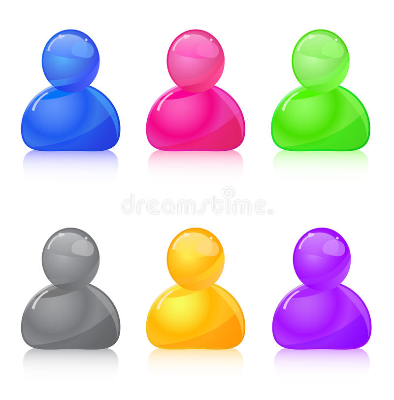 People Icon Stock Photography
