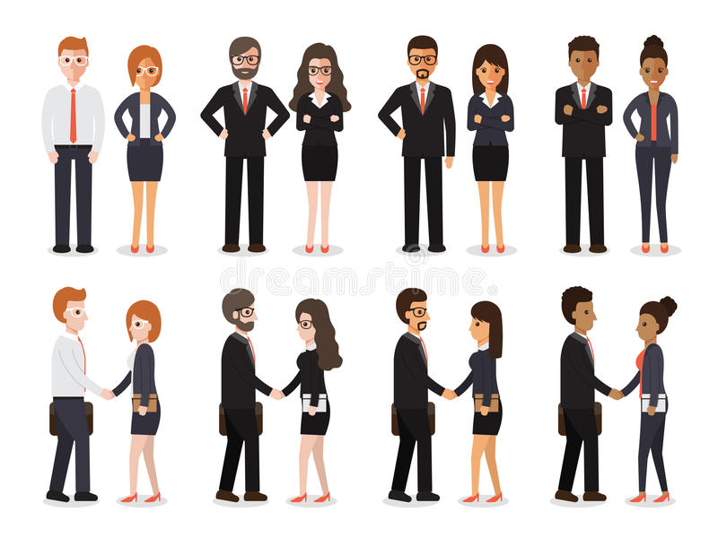 People icon stock illustration