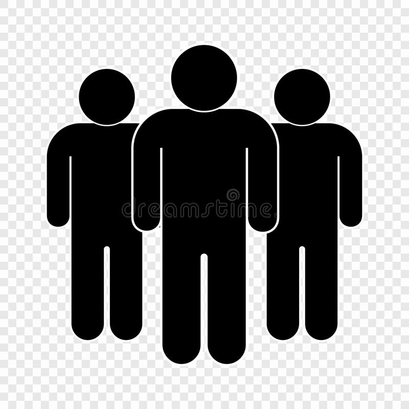 People icon stock illustration