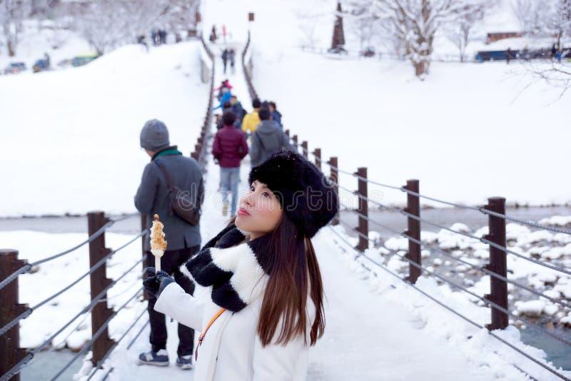 People On Icy Bridge Free Public Domain Cc0 Image