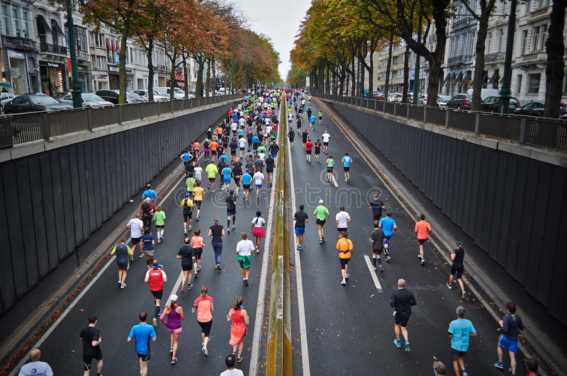 People Jogging On Clear Road Free Public Domain Cc0 Image