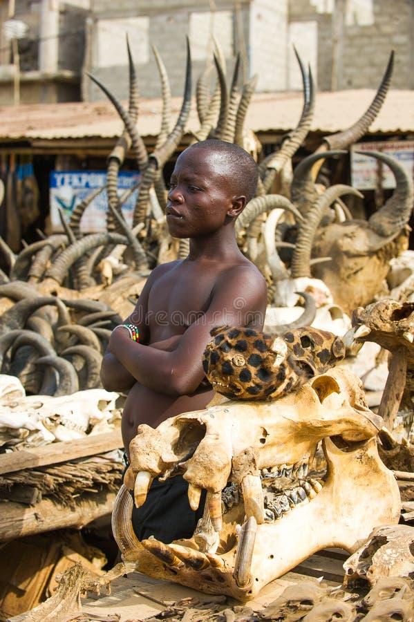 People in KARA, TOGO stock image