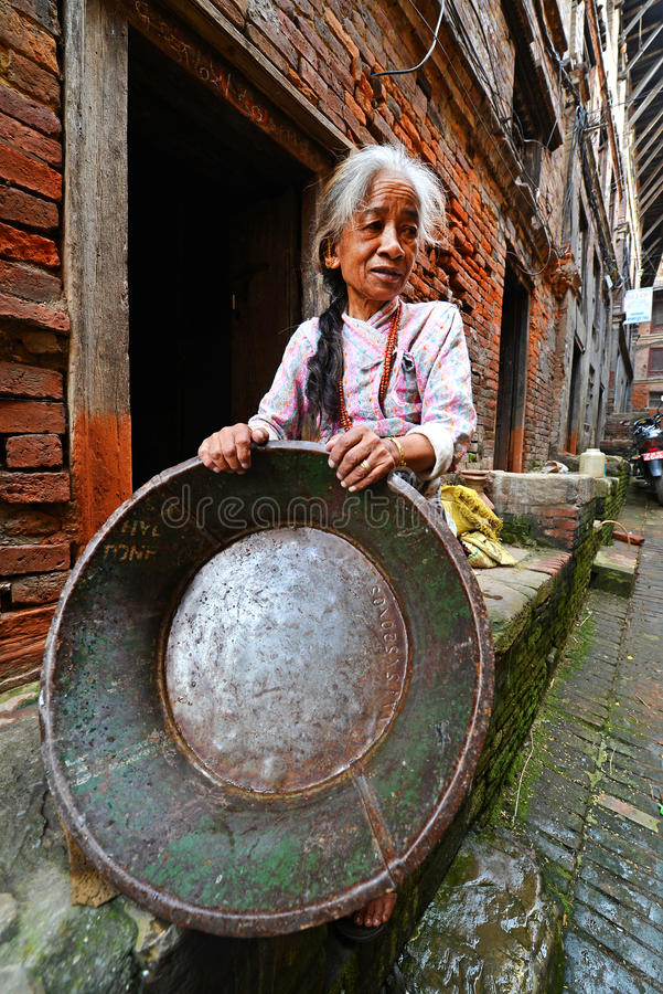 Download People From Katmandu Suburbs Living In Poverty Editorial Photography - Image of asia, needs: 34579217