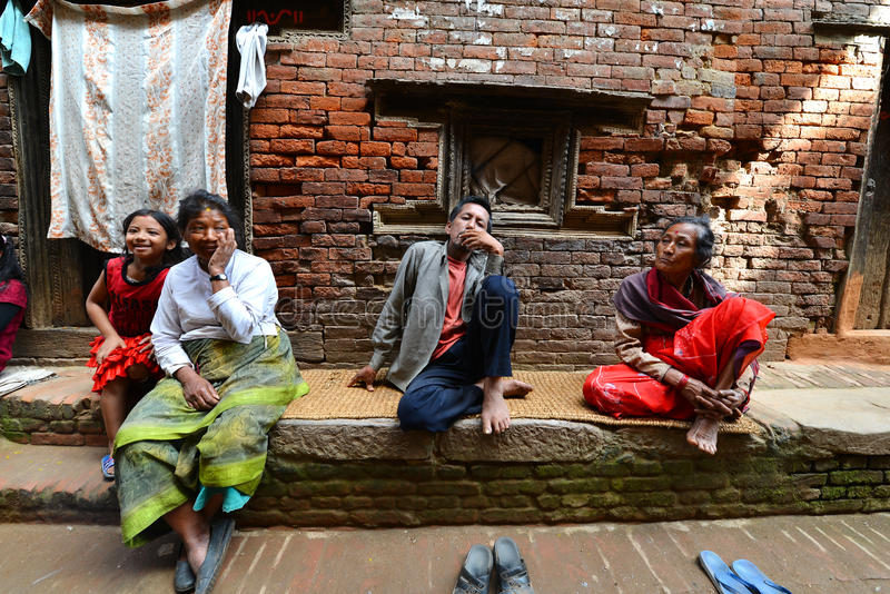 Download People From Katmandu Suburbs Living In Poverty Editorial Image - Image: 34579675