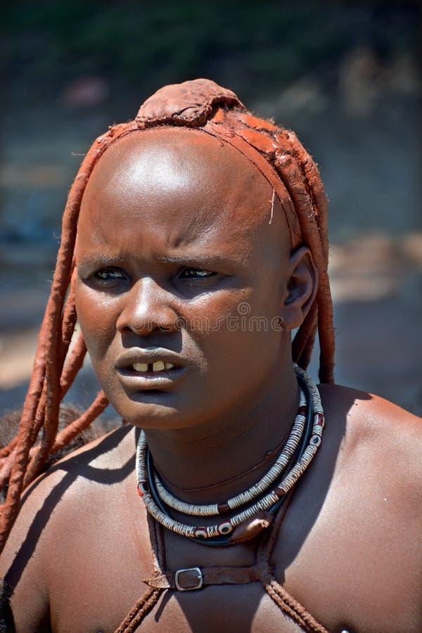 People living in Mondesa slum royalty free stock photography