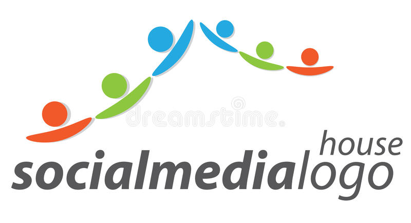 People Logo Royalty Free Stock Photography