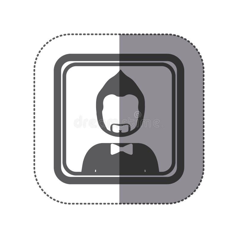 People man icon stock. Illustration image royalty free illustration