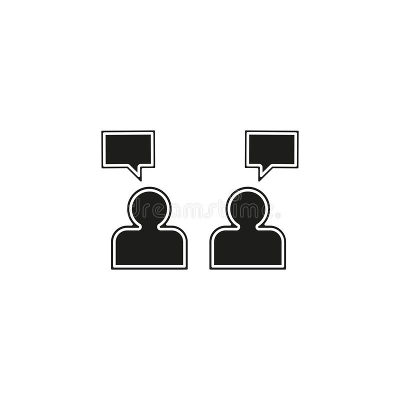 People management concept line icon. Simple element illustration. people management concept outline symbol design from Management set. Flat pictogram - simple stock illustration