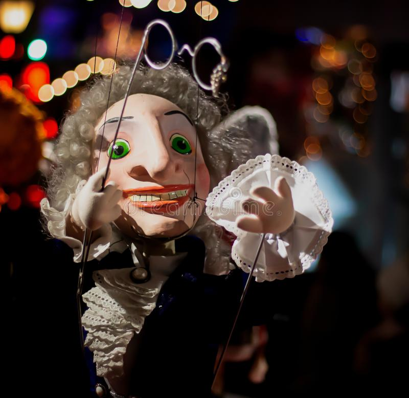 People Marionette - Image stock photos