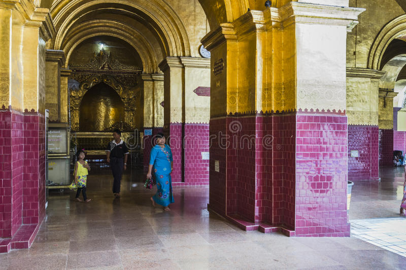 People in Monastery royalty free stock photos