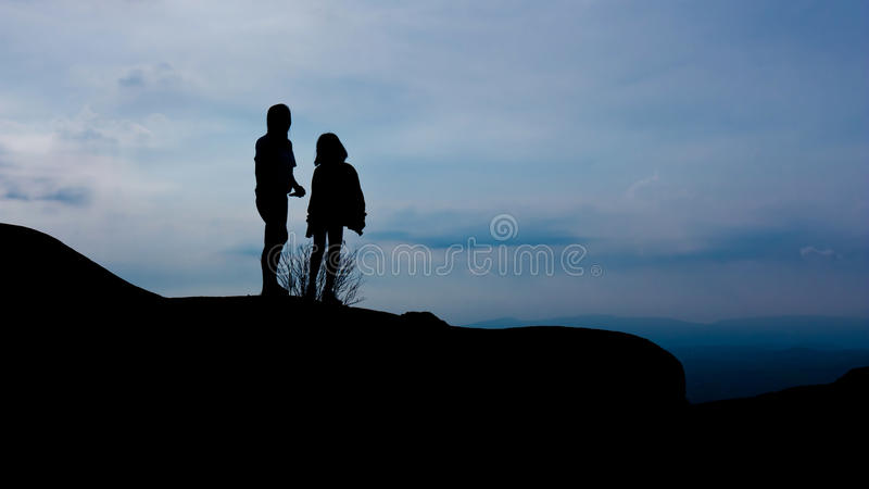 Download People on mountain stock photo. Image of hill, person - 32371756
