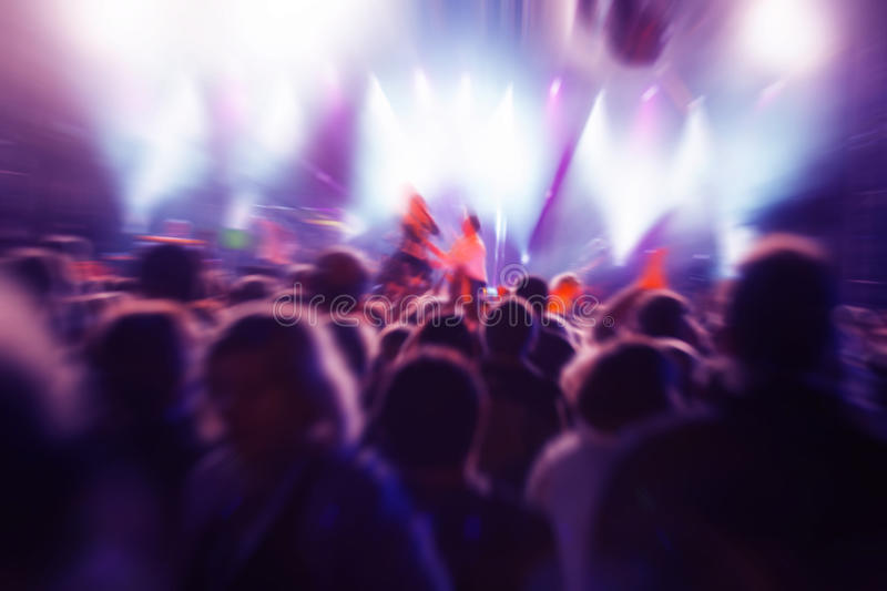 Download People on music concert stock photo. Image of clap, back - 21961466