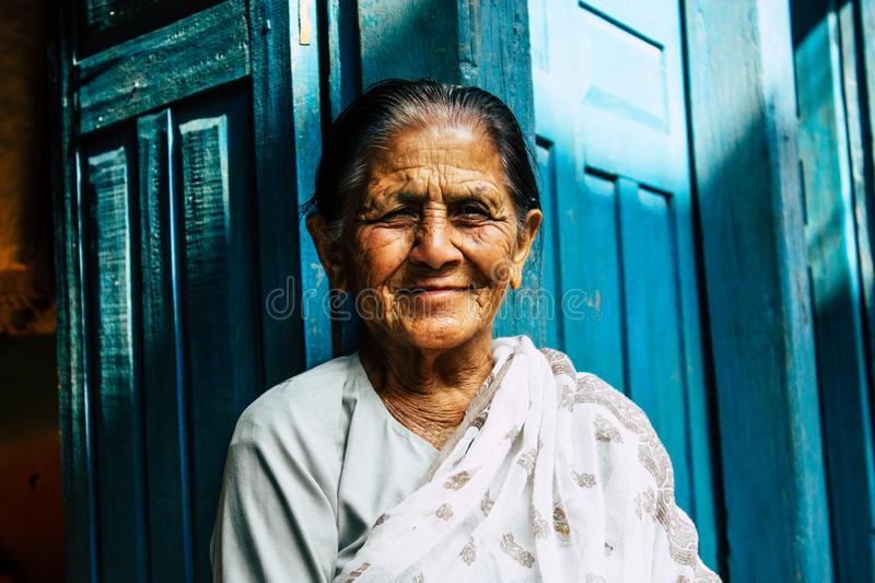 People of Nepal royalty free stock image