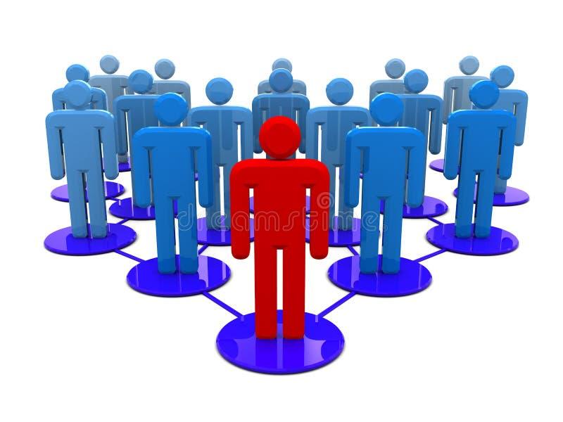 People network vector illustration