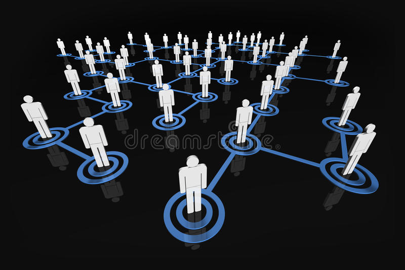 Download People Network stock illustration. Image of social, network - 12525806
