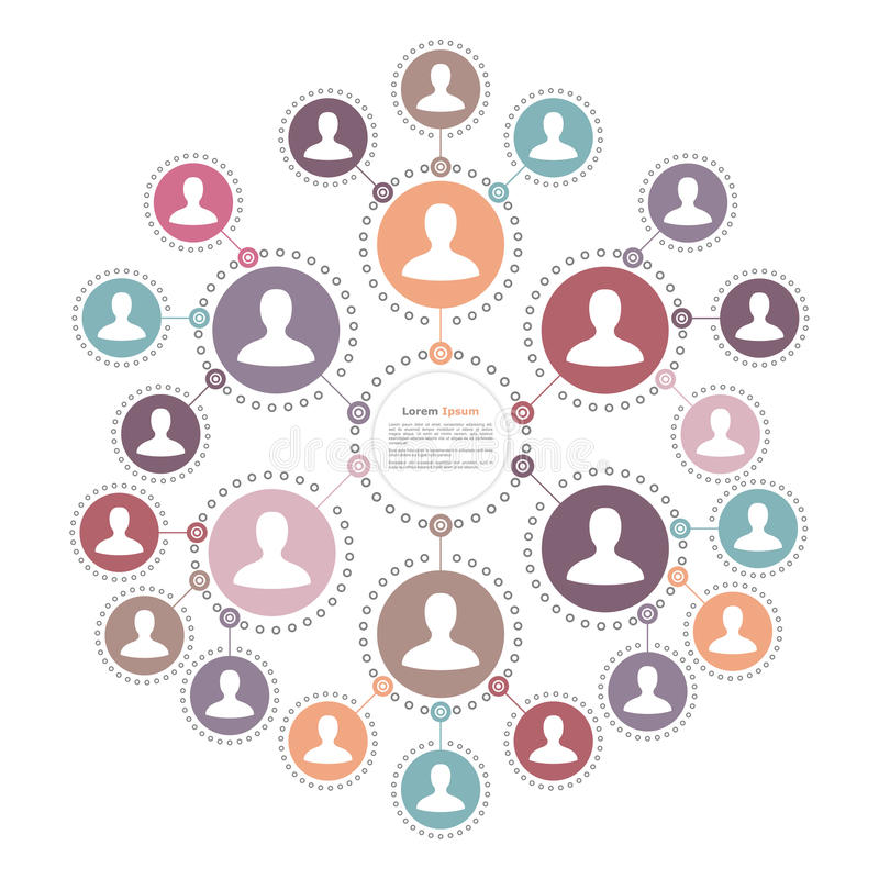 People Network Concept vector illustration