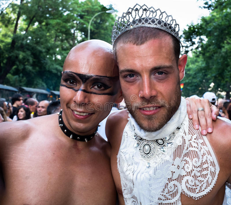 Download People Participating At The Gay Pride Parade In Madrid Editorial Stock Image - Image: 32094204