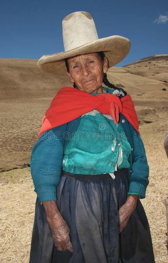People of Peru royalty free stock photos
