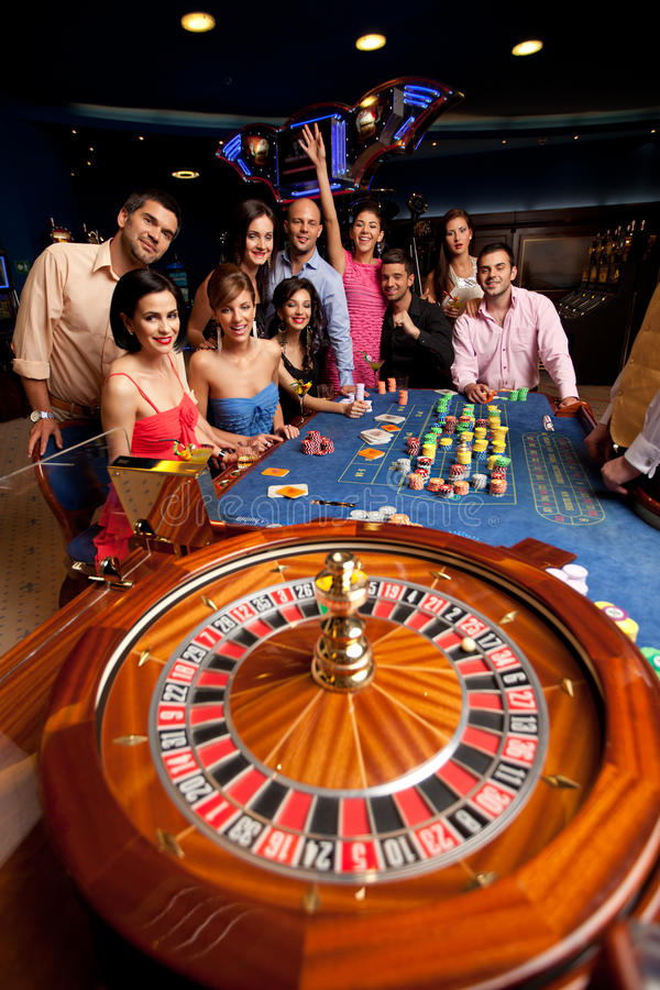 Download People Playing Roulette Stock Images - Image: 20366674