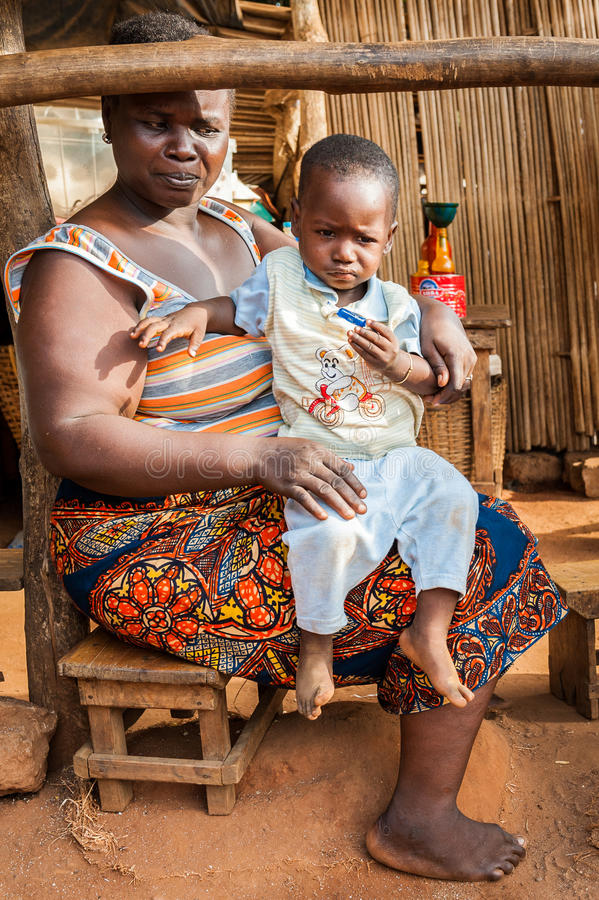 People In Porto Novo Benin Editorial Photography Image