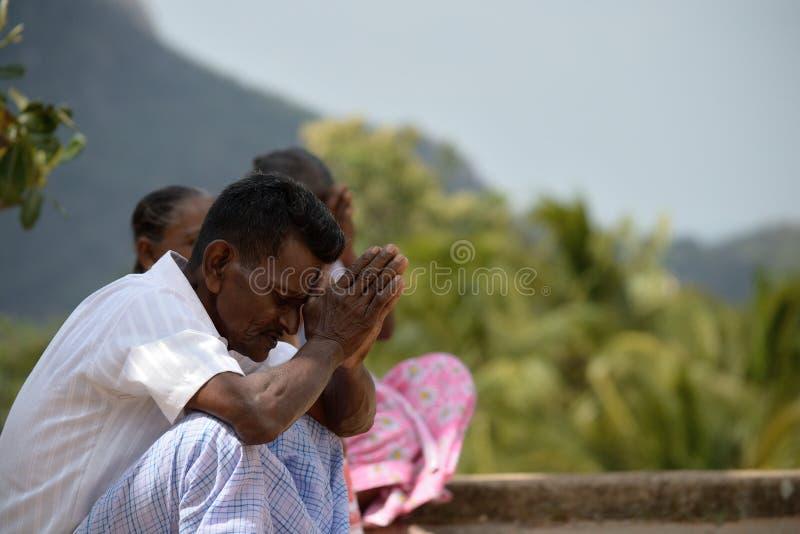 People praying royalty free stock photos