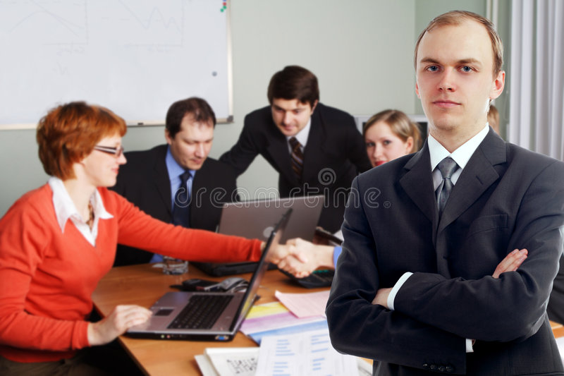 People presentation2 royalty free stock photography