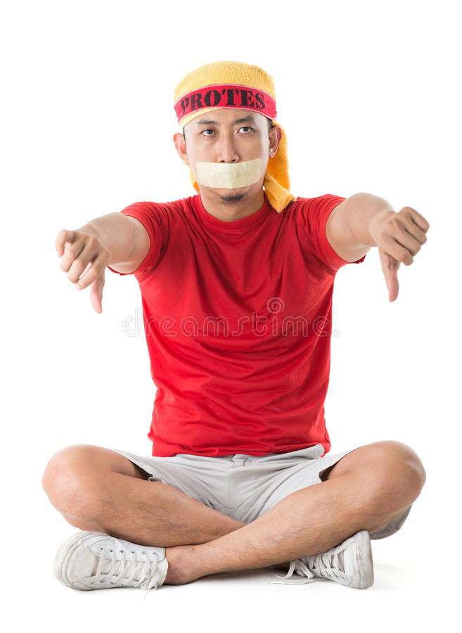 Download People protest concept. stock photo. Image of freedom - 28650610