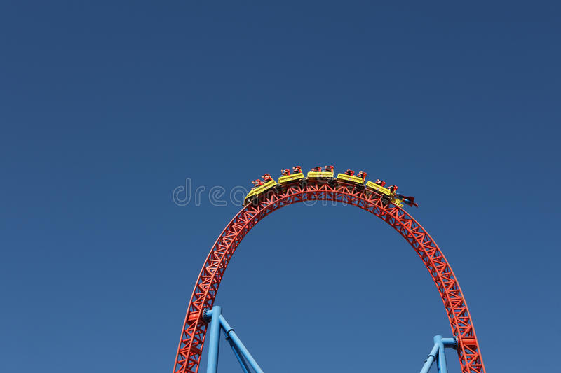 Download People in roller coaster stock image. Image of background - 21710639