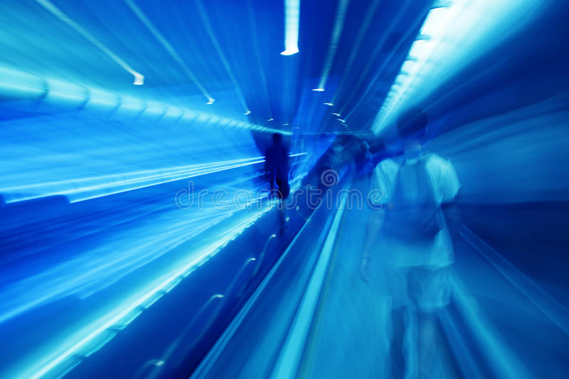 Download People rush in subway. stock image. Image of move, station - 21455863
