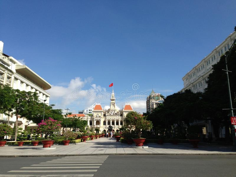 People& x27;s Committee of Ho Chi Minh City stock photos