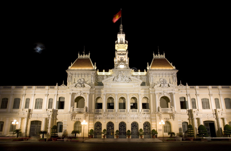 Download People's Committee Saigon Vietnam Royalty Free Stock Photos - Image: 4227758