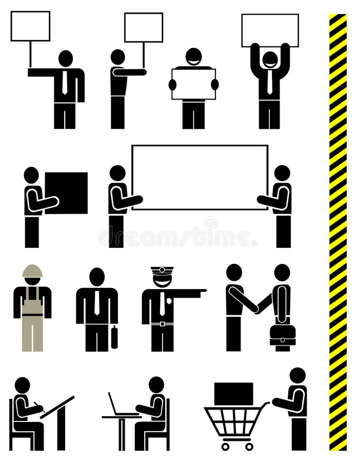 Download People - Set Of Vector Icons Stock Vector - Image: 11545435