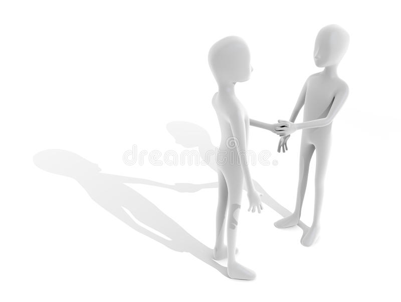 People shaking hands. Person to shake hands. Say thank you. First meeting, and greeting stock image