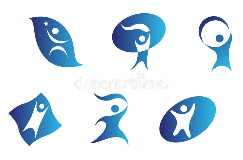 People signs vector illustration