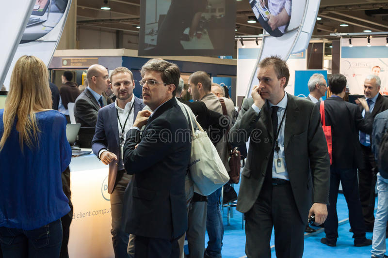 Download People At Smau Exhibition In Milan, Italy Editorial Stock Image - Image: 34648964