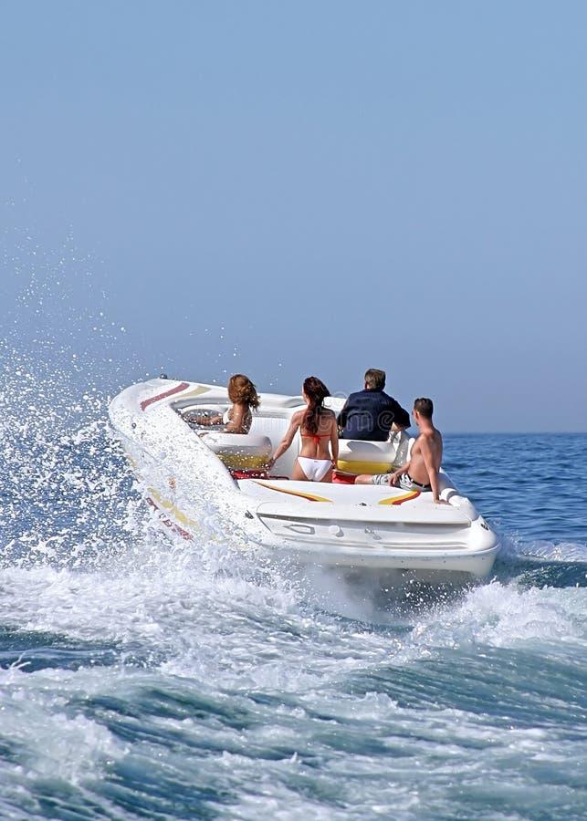 Download People in Speedboat stock image. Image of bikini, ocean - 170713