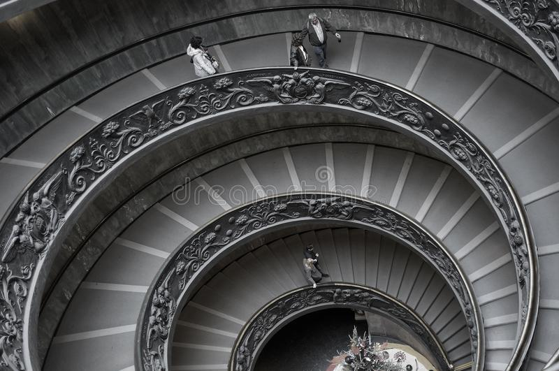 People On Spiral Staircase Free Public Domain Cc0 Image