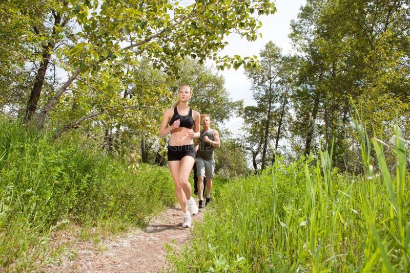 Download People In Sportswear Jogging Stock Image - Image: 18359523