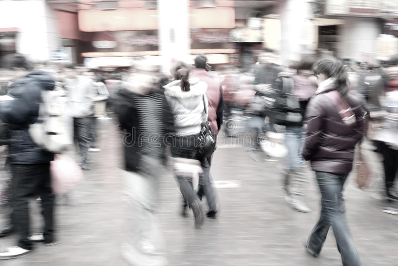 People On Street Stock Images