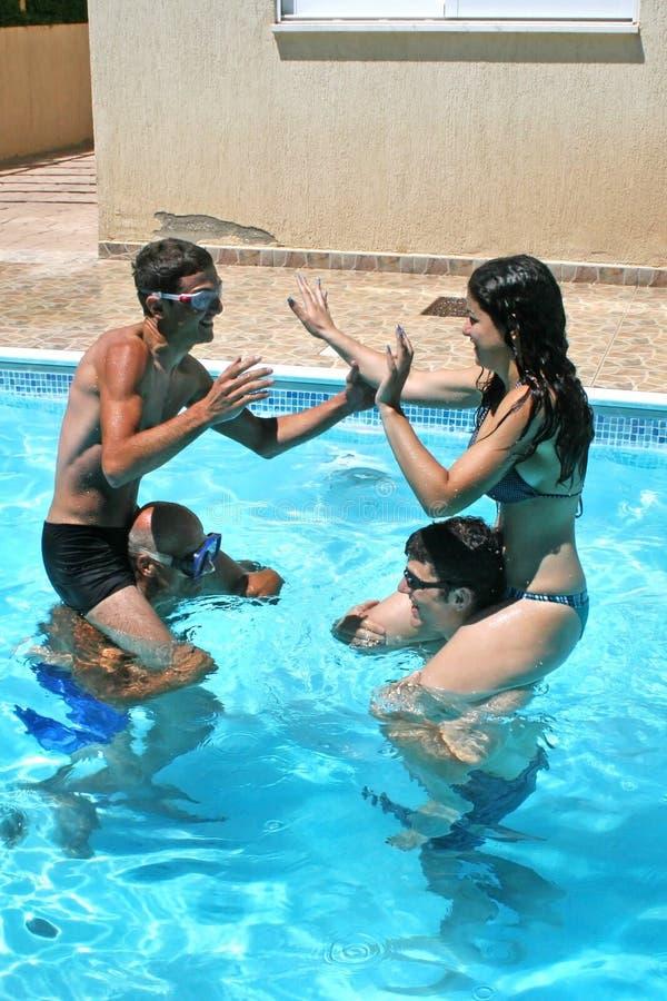 Download People in swimming pool stock photo. Image of beautiful - 20447148