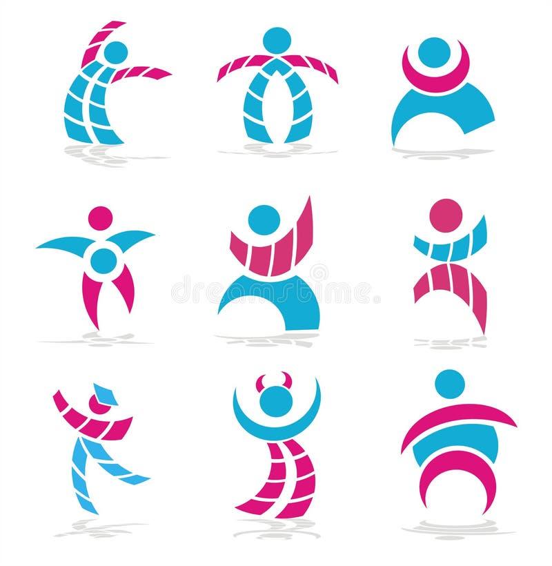 People Symbols Stock Image
